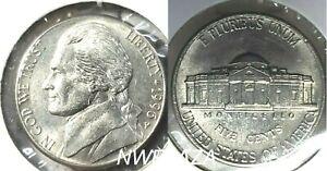 2002 D Jefferson Nickel Better Grade Folder Filler ☆1 Coin from Album☆