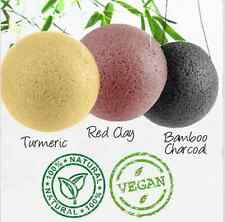 Missha USA Natural (3 Pack) Konjac Sponge Soft Jelly Puff Face Skin Care