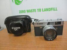 Canon Camera Canonet  QL17  45mm Lens 1:17 w/ Case