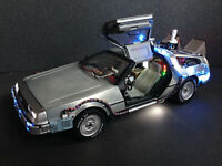 DeLorean Zurück in die Zukunft BTTF Licht & Sound Hot Wheels PreProduction 1:18