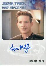 Star Trek DEEP SPACE 9: Heroes Villains Autograph Card JIM METZLER as C. Brynner