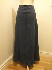 Laura Ashley Womens Ladies Denim Skirt Long Length Size 16