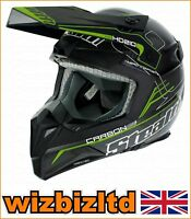 Stealth HD210 Pro Genuine Carbon FLO Green Graphic S STH149S