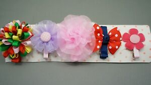 5 Mixed Style Hair Clips