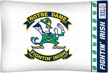 NEW Notre Dame Fightin Irish Standard Knit Pillowcase