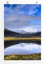 60x90cm Poster Landschaftsfotografie – Schönheit Islands