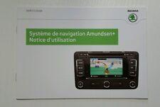 Skoda Systeme de Navigation Amundsen + 05/2012 French //00098