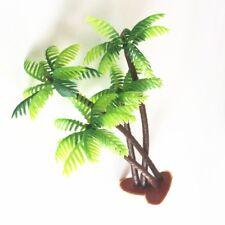 5PC Fish Tank Decoration Aquatic Plants Green Scenery Landscape Model Palms Tree