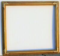 Vintage carved gold leaf frame fits 20 x 22 painting