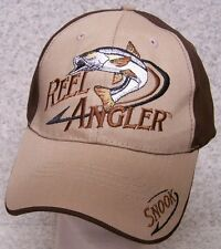 40cd33a4124e8 Embroidered Baseball Cap Fishing Snook Reel Angler NEW 1 hat size fits all
