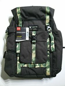 Under Armour UA x Project Rock USDNA Regiment Range Camo Backpack 1315435-001