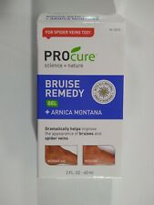 Lot of 2 Procure Bruise Remedy Gel + Arnica Montana - 2 Fl Oz - *New*