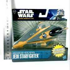 "Star Wars Epic Battles Anakin Skywalker Jedi Starfighter Hasbro 7"" figure gift"