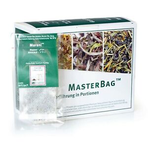 Tee Gschwendner Grünertee Marani 25 x 2g Master Bag Glas TeeGeschwendner
