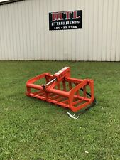 MTL Attachments Kubota-Kioti Compact Tractor 48 Root Grapple Bucket-Free Ship