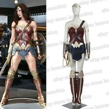 Diana Prince Gal Gadot Cosplay Clothing Fancy Dress with Whip
