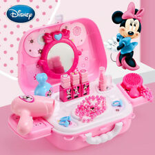 Disney Minnie children's kitchen Tableware Food And Makeup Girl Toy FREE SHIP
