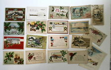 LOT OF 33  MERRY CHRISTMAS  ANTIQUE  POSTCARDS