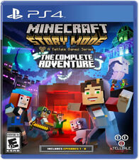 Minecraft: Story Mode Complete Adventure PS4 New PlayStation 4, PlayStation 4