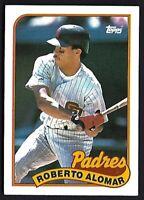 ROBERTO ALOMAR 1989 Topps San Diego Padres #206 Baseball Card