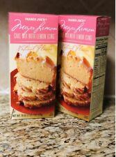2 X Trader Joe's Meyer Lemon Cake Mix With Lemon Icing Limited Seasonal Item