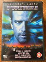 Fortress DVD 1992 Futuristic Prison Sci-Fi Movie with Christopher Lambert