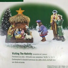 Department 56 Christmas in The City Series Visiting The Nativity 58956