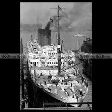 #php.01659 Photo PAQUEBOT SS PARIS CIE GENERALE TRANSATLANTIQUE OCEAN LINER