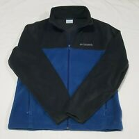 Columbia Mens warm Jacket full zip Blue size Medium