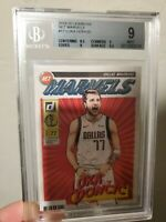 2019-20 Donruss Net Marvels #17 Luka Doncic Dallas Mavericks PSA BGS 9 w/ 9.5