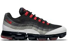 Nike Air Max Vapormax 95 Hot Red Pewter Black Comet Shoes Women's Size 6.5