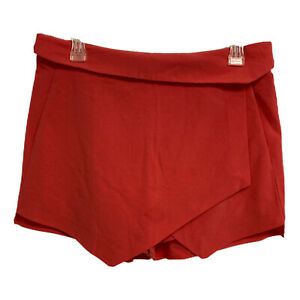 NWT Mossimo Stretch Extensible Siren Red Skort Size 10