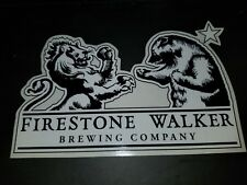 Firestone Walker Brewing Co. Sticker! ~NEW Craft Beer Brew Brewery Decal~ Ale