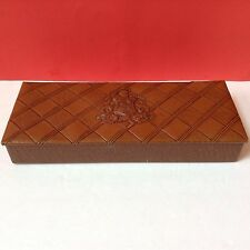 Guildcraft Kraft Caramels 1950's Candy Box Vinyl Thick Embossed Box RARE