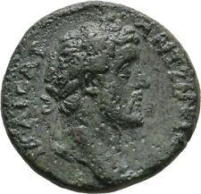 Ancient Rome MACEDON KOINON 138-161 AD ANTONINUS PIUS THUNDERBOLT #2