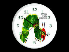 The Very Hungry Caterpillar Wall Clock Can be Personalised