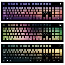 Mechanical Keyboard Cherry MX Keycap / Key cap Vinyl Decals - 002