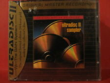"MFSL-SPCD 016 VARIOUS "" ULTRADISC II SAMPLER "" (USA / GOLD-CD / FACTORY SEALED)"