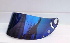 Aftermarket Shark Espejo Azul Visera Blue Mirror Visor Shield RSR RSR2 RSX RS2