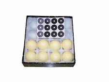 "8 ""Eight""Cue Q White Balls 2-1/4"" Pool Billiard,Reg Size! + FREE CRAZY CUE BALL!"
