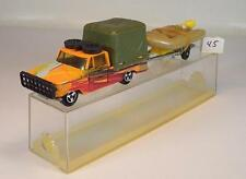 Majorette 1/80 Dodge Safari & Schlauchboot Nr.1 OVP #045