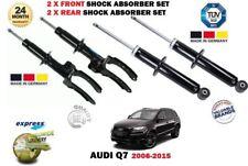 FOR AUDI Q7 TFSI FSI + TDI 2006-2015 NEW 2X FRONT + 2X REAR SHOCK ABSORBER SET