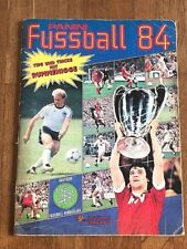 Album figurine Panini FUSSBALL 84 COMPLETE sticker football calciatori germania