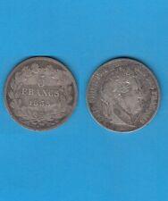 Louis Philippe  5 Francs Argent tête laurée 1835 Lille