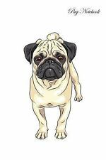 Pug Notebook Record Journal, Diary, Special Memories, to Do List, Academic No...