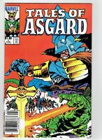 Tales of Asgard #1 Canadian Newsstand Price Variant Rare 1984 Thor