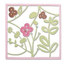 Fustella fustelle fiori fiore foglie giardino primavera Big Shot Sizzix 660434