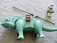 LEGO Star Wars - Rare - Dewback with Saddle Gear & Stormtrooper - Excellent