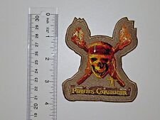 Disney PIRATES OF THE CARIBBEAN Embroidered No Sew Applique Patch