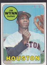 1969 TOPPS BASEBALL JIM WYNN TOY CANNON #360 ASTROS EXMT *58309